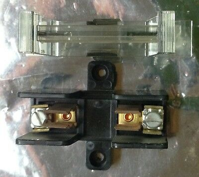 Buss 3743 Fuse Holder 600 VAC 30Amp Complete with safety puller cover