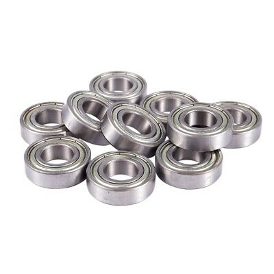 10 Pcs 6003Z Single Row Shielded Deep Groove Ball Bearings 17x35x10mm E7E8