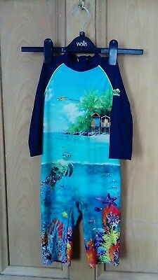 Ted Baker Style Wetsuit For child Age 3 to 4 years old