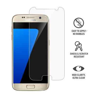Samsung Galaxy S7 - 100% Genuine Tempered Glass Screen Protector - Clear