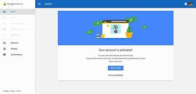 google adsense New Zealand non hosted account for website