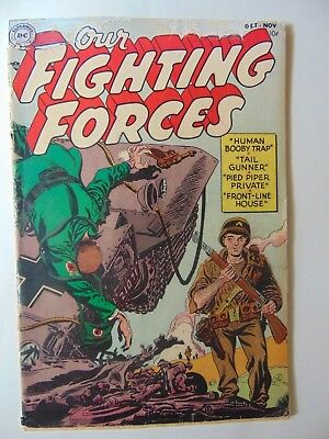 Our Fighting Forces #1 (1954, DC)