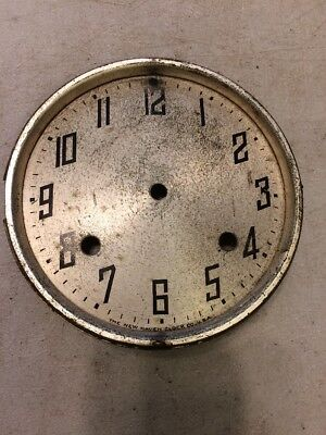 New Haven Cathedral Arch Mantle Clock Dial