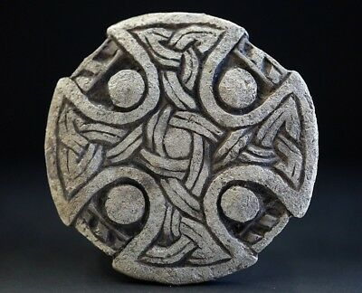 Ancient Viking Silver Cross. Stunning Norse Eternity Knot Amulet, c 950-1000 Ad.