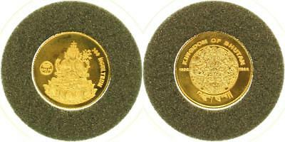 Bhutan 300 Ngultrum 1996 - PP in Kapsel - GOLD