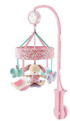 ♡♡Mobile Musical Lit Bébé MOTHERCARE Musical Lapinou rose -NEUF♡♡MONDIAL RELAY♡♡