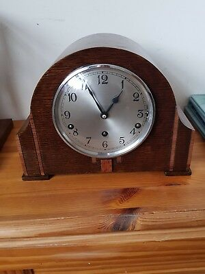 Garrard Clocks Ltd Art Deco Mantle Clock