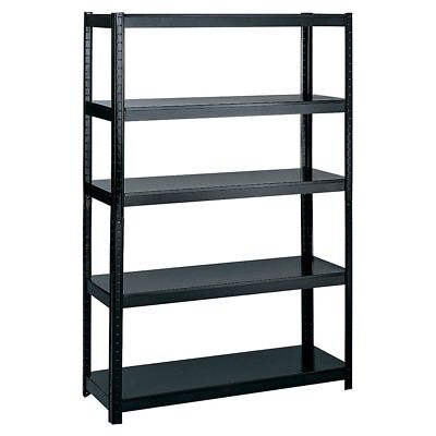 Safco Boltless Steel 5 Shelf Bookcase