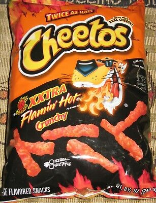 Single Bag 8.5 oz Crunchy Xxtra Flamin' Hot Cheetos Make it a Flamin' Hot Summer