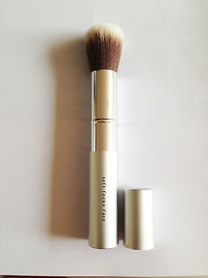 bare escentials bareMinerals retractable face brush - New - sleeved - Silver