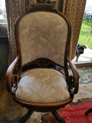 Antique Office Swivel And Tilt Chair.