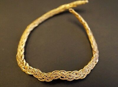 Ancient Viking Solid GOLD. Interlinked Wire of Twisted Norse Knot, c 950-1000 Ad