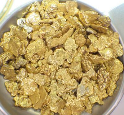GOLD NUGGETS 1 Troy Ounce! Natural Placer Alaska Natural #10 DW Creek FREE SHIP!