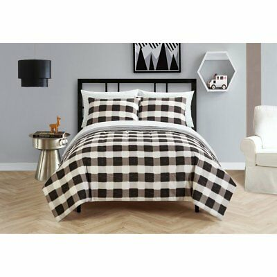 Black and White Checkered Bed in a Bag by Your Zone
