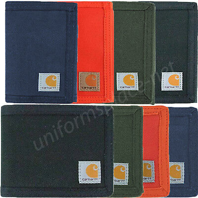 Carhartt Wallet Mens Passcase, Trifold Cordura Nylon Billfold or Trifold Wallet