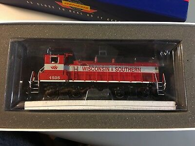 Athearn Genesis G66089 Wisconsin & Southern Mp15-Ac #1505 Please Read