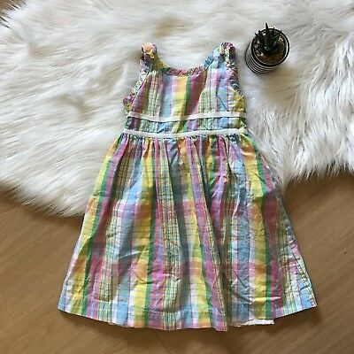 Girl's Toddler Lilly Pulitzer Plaid Summer Shift Dress Size 4T