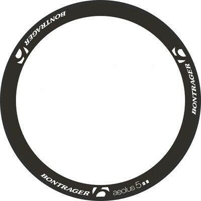 BONTRAGER CARBON BIKE BICYCLE RIM DECALS STICKERS aura5TLR KIT FOR CYCLE 2RIMS