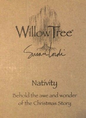 Demdaco Willow Tree Nativity Set, 6 Pieces, #26005 Susan Lordi Demdaco, NEW
