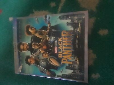 Black Panther - Brand New Sealed Blu-ray + Slip-Cover, Marvel 2018 Fast shipping