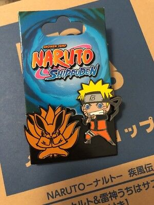 SDCC 2018 Viz Media Naruto Shippuden Pin Set