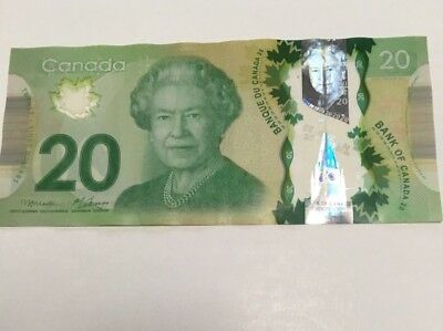 $20 Canadian paper money