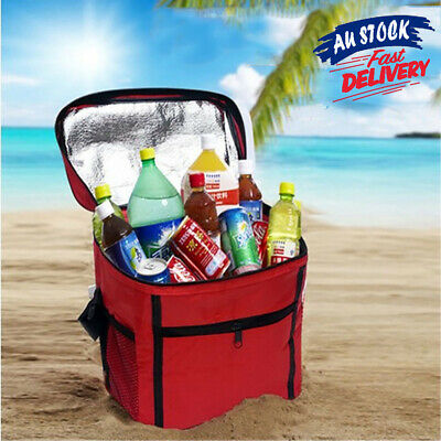 Thermal Cooler Food Drink Lunch Picnic Camping Large Portable Cool Insulated Bag