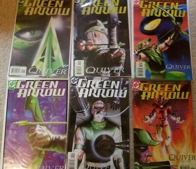 Green Arrow Quiver #1-12 Collection