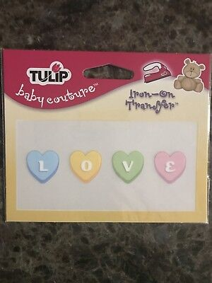 Tulip Baby Couture Iron On Transfer IRT SM Candy Love