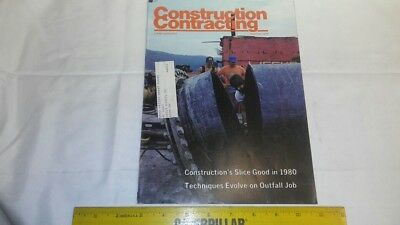 Vintage Construction Contracting Magazine Dec. 1979 Seabee's Resourceful as Ever