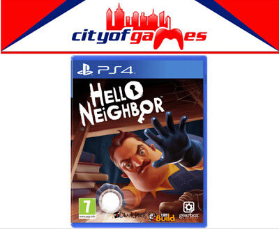 Hello Neighbor PS4 Game Brand New & Sealed In Stock