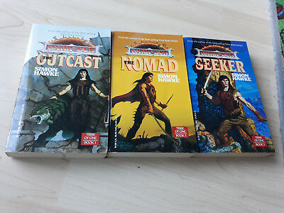 AD&D Dark Sun Romane -Tribe of- The Outcast/ The Seeker / The Nomad englisch top