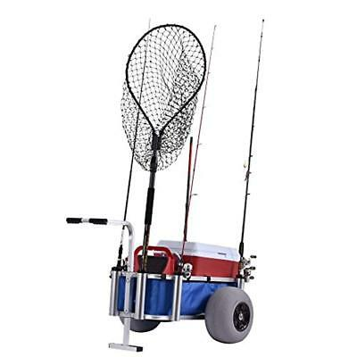 "Material Handling Products Muscle Carts HDBC-BLUE Fish Marine Cart, 27"" Height,"