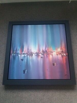 Harbour Lights by Philip Grey, one of 75, Signed, Limited Edition Canvas Print