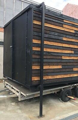 5m x 2.5m Metal storage container