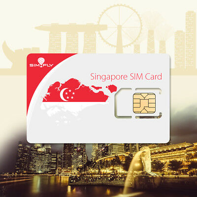 SIM Card Singapore Prepaid Data SIM Card with 5 GB of Data for 30 Days