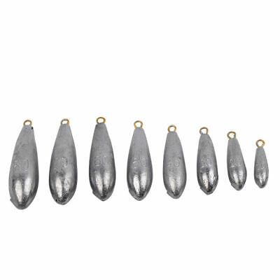 Fishing Bullet Freshwater Sinker Lead Rig Weights for Outdoor Fishing Accessory