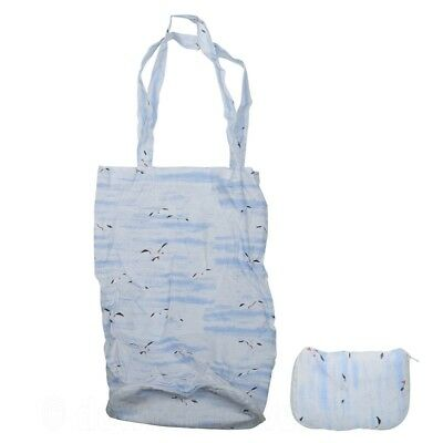 Creative Tops Cornish Harbour Reuseable Foldaway Tote Bag with Seagull Design