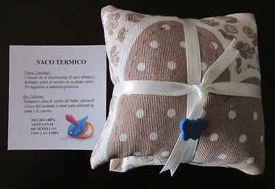 Saco Termico De Bebe De Semillas Con Lavanda. Wheat Bag For Baby With Lavender