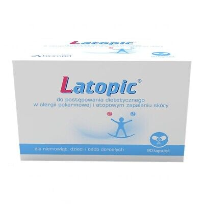 3x Latopic first step in food allergy and atopic dermatitis 90 capsules