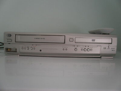 Durabrand DVD VHS combination player with remote no instructions tested working