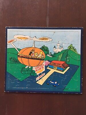Excellent Condition...1973...Burger King Puzzle