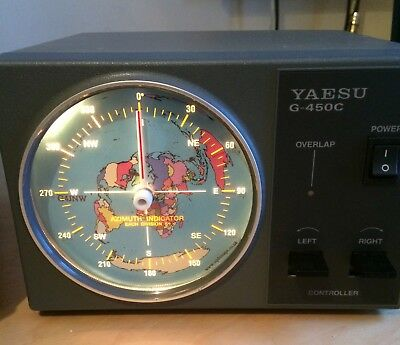 Custom Great Circle Map Insert for Yaesu Controllers, Centred on your Lat/Long