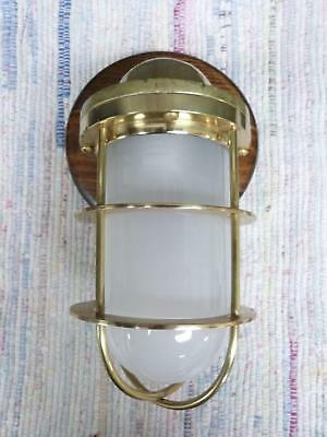 Brass Nautical Maritime Ships Decor Wall Light Lamp - for Dry Locations #4
