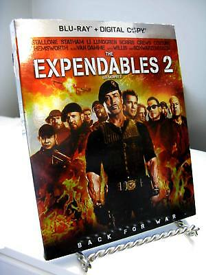 Expendables 2 - Sylvester Stallone - Blu-Ray + Digital Copy - Activation Expired