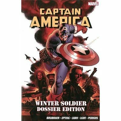 Captain America: Winter Soldier Dossier Edition by Ed Brubaker (Paperback, 2014)