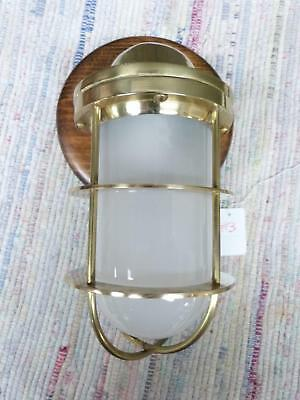 Brass Nautical Maritime Ships Decor Wall Light Lamp - for Dry Locations #3