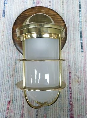 Brass Nautical Maritime Ships Decor Wall Light Lamp - for Dry Locations #2
