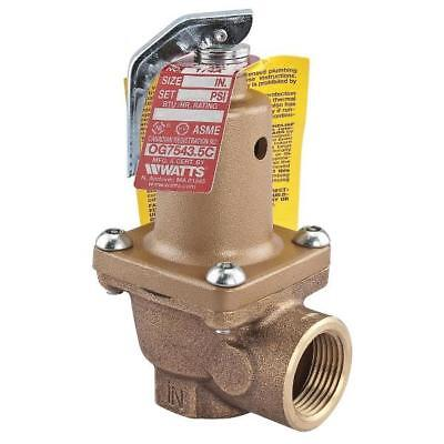 "Watts 174A 2"" Pressure Safety Relief Valve Set At 30 Lbs"