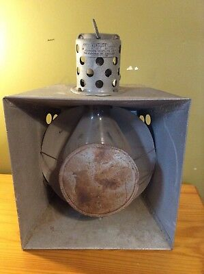 VINTAGE 1920's JOHNSON VENTLITE CO. CHICAGO-ANTIQUE PHOTOGRAPHY LIGHT HUGE-NEAT